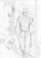 Spider-Man Noir Sketch by Spideyfan3714