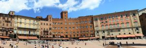 Siena Italy Panorama by limitlis