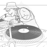 Joe is Japanese - turntable by Inkthinker