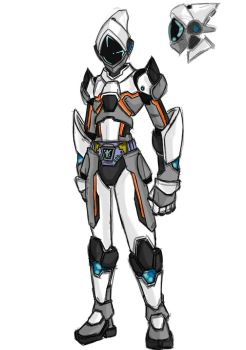 Fourze redesigned by GinosAiden91