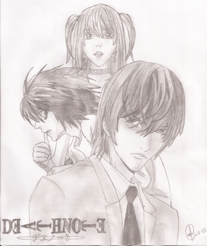 Death Note by djsc2012