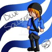 THE BLUE SOLDIER by zimzamzoom200