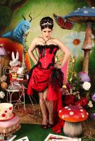 Pin Up Queen of Hearts 9 by ThePrincessNightmare