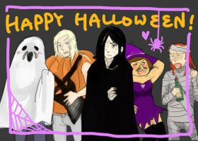 Happy Halloween!! by NaOH-giveup