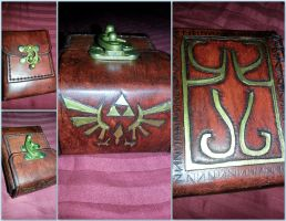 Zelda Deckbox by deadlanceSteamworks