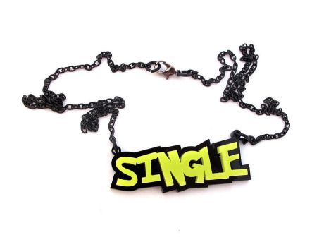 Single - Marital status necklace by milkool