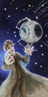 Wheatley and the Doctor by KittyMira