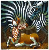 Zebra and Quagga by Rowkey