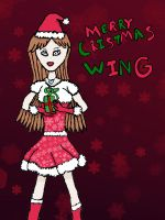 Merry Christmas Wing by PrincessAsh1ey