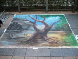 Chalk Art1 by Valnor