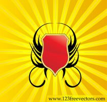 Free Vector Shield by 123freevectors