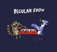 Regular Show -Shirt Design- by CrashyBandicoot