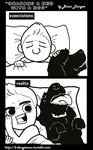 Sharing a Bed With a Dog comic by b-dangerous