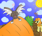 cabbits love carrots by hip-indeed