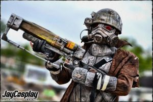 NCR Veteran Ranger 08 - AmeCon 2012 by JayCosplay