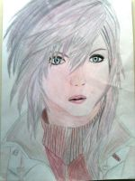 Lightning drawing by Rose.p by rose1371999