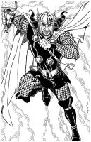 MY BF IS THOR! COMMISSION by FanBoy67