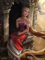 Rapunzel Stage 2 by mictones