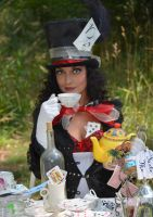 The Mad Hatter by Fathergatto