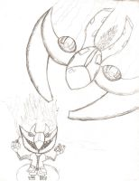 Evil Villian Concept Art by davids-sketchbook