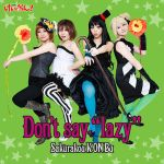 K-on Don't say lazy ii by betobeto-san