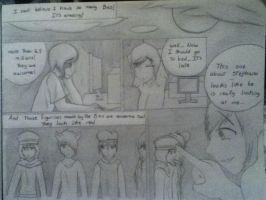 Pewdiepie's horror adventure comic Part 1 by judy2468