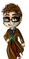 Minis 30 - The Tenth Doctor by FuriarossaAndMimma