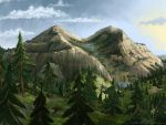 Mountain Valley by kloveking59