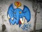 Bluephant by wakwham