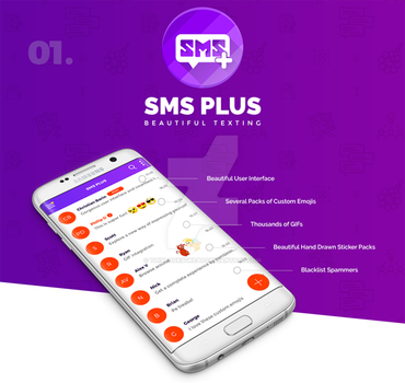 SMS Plus App by thislooksgreat