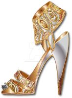 MSG Shoes 'Amore' by Simon-HartmanArt