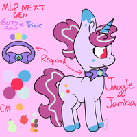 MLP next gen: Juggle Jamba by appealcider