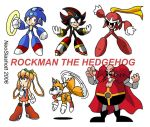 Rockman the Hedgehog by NeoSlashott