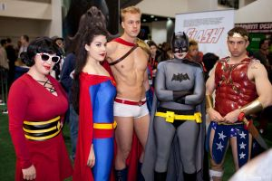 Gender Bent Justice League DC by miss-kitty-j