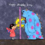 HBD to Sulley!!!!! by Shanran