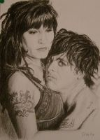 Billie Joe and Adrienne by Coquelicotnoir