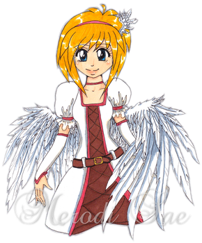 Angel by MerodiSae