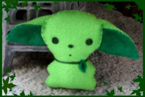 Leaf Creature Plushie by Evergreen-Willow