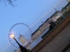 London Eye by SquigglyButterfly