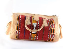 Ornamented Voyageur Bag by myMzone