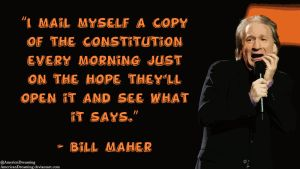 Bill Maher on Government Surveillance by AmericanDreaming