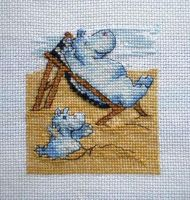 Hippo relax (pattern too) by Astraan