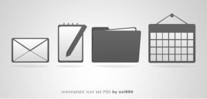 second free PSD icon pack by eEl886