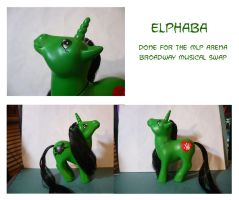 MLP Custom : Elphaba 2 by marienoire