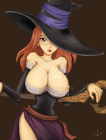 Dragon's Crown Sorceress by SketchDM