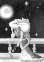Juliet and the night by KatOtter
