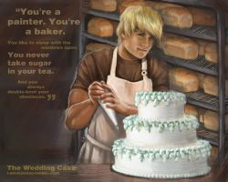 Hunger Games - The Wedding Cake - no.10 by lizzomarek