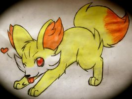 Fennekin by KathrinaKitty