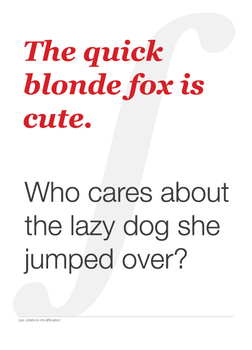 The Quick Blonde Fox by miksago
