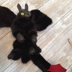 Toothless Poseable Art Doll by coyotare